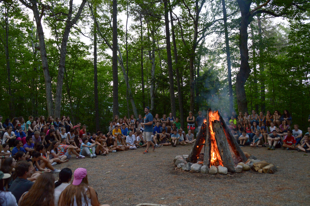 campers enjoying their summer during the Covid-19 pandemic